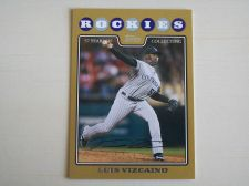 Buy 2008 Topps Update GOLD #UH175 Luis Vizcaino ROCKIES /2008
