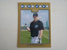 Buy 2008 Topps Update GOLD #UH180 Scott Rolen BLUE JAYS /2008