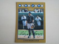 Buy 2008 Topps Update GOLD #UH187 Rod Barajas BLUE JAYS /2008