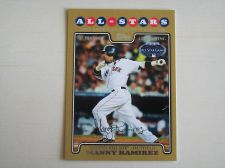 Buy 2008 Topps Update GOLD #UH190 Manny Ramirez RED SOX /2008