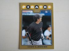 Buy 2008 Topps Update GOLD #UH198 Andy LaRoche PIRATES /2008