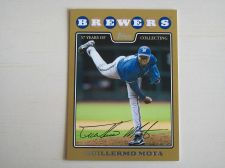Buy 2008 Topps Update GOLD #UH212 Guillermo Mota BREWERS /2008
