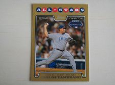 Buy 2008 Topps Update GOLD #UH214 Carlos Zambrano CUBS /2008