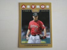 Buy 2008 Topps Update GOLD #UH222 Dave Borkowski ASTROS /2008
