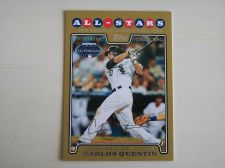 Buy 2008 Topps Update GOLD #UH227 Carlos Quentin WHITE SOX /2008