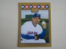 Buy 2008 Topps Update GOLD #UH235 Eddie Guardado RANGERS /2008