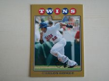 Buy 2008 Topps Update GOLD #UH290 Carlos Gomez TWINS /2008