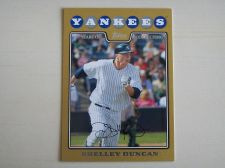 Buy 2008 Topps Update GOLD #UH308 Shelley Duncan YANKEES /2008