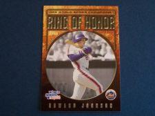 Buy 2008 Topps Update Ring of Honor Howard Johnson METS