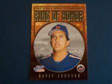Buy 2008 Topps Update Ring of Honor Davey Johnson METS