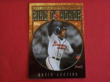Buy 2008 Topps Update Ring of Honor David Justice BRAVES