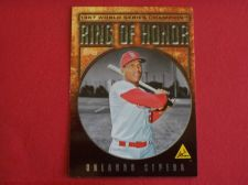 Buy 2008 Topps Update Ring of Honor Orlando Cepeda CARDINALS