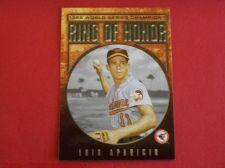 Buy 2008 Topps Update Ring of Honor Luis Aparicio ORIOLES