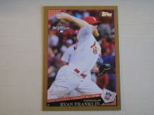 Buy 2009 Topps Update GOLD #UH187 Ryan Franklin CARDINALS /2009