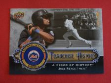 Buy 2009 UD Piece of History Jose Reyes METS /999