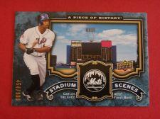 Buy 2009 UD Piece of History Carlos Delgado METS /999