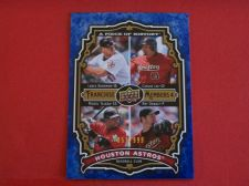 Buy 2009 UD Piece of History Franchise Members 4 ASTROS /999