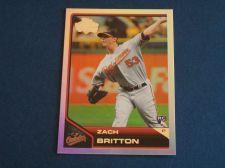 Buy 2011 Topps Lineage Diamond Anniversary RC #61 Zach Britton ORIOLES