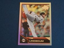 Buy 2011 Topps Lineage Diamond Anniversary #135 Tim Lincecum GIANTS