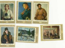 Buy Russia,1972. Russian Painting, 6 Stmp & S/S, 4036-42, MNH