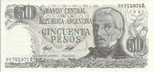 Buy Argentina 50 Peso Bill