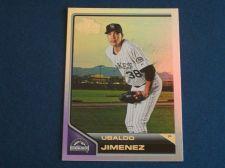 Buy 2011 Topps Lineage Diamond Anniversary #63 Ubaldo Jimenez ROCKIES