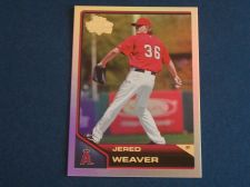 Buy 2011 Topps Lineage Diamond Anniversary #163 Jered Weaver ANGELS