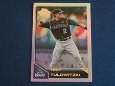 Buy 2011 Topps Lineage Diamond Anniversary #80 Troy Tulowitzki ROCKIES