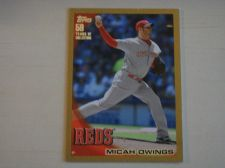 Buy 2010 Topps Update Gold #US277 Micah Owings REDS /2010