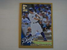 Buy 2010 Topps Update Gold #US128 Reed Johnson DODGERS /2010