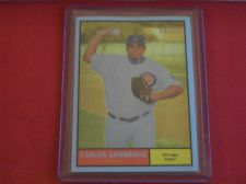Buy 2010 Topps Chrome Heritage #C133 Carlos Zambrano CUBS /1961