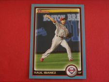 Buy 2010 Bowman BLUE #24 Raul Ibanez PHILLIES /520