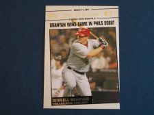 Buy 2008 Topps Update Year In Review #YR134 Russell Branyan PHILLIES
