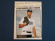 Buy 2008 Topps Update Year In Review #YR135 David Price RAYS