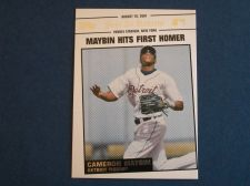 Buy 2008 Topps Update Year In Review #YR138 Cameron Maybin TIGERS