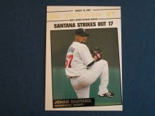 Buy 2008 Topps Update Year In Review #YR139 Johan Santana TWINS