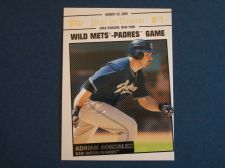Buy 2008 Topps Update Year In Review #YR143 Adrian Gonzalez PADRES