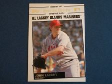 Buy 2008 Topps Update Year In Review #YR146 John Lackey ANGELS