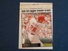 Buy 2008 Topps Update Year In Review #YR147 Jayson Werth PHILLIES