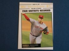 Buy 2008 Topps Update Year In Review #YR148 Aaron Harang REDS