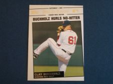 Buy 2008 Topps Update Year In Review #YR151 Clay Buchholz RED SOX