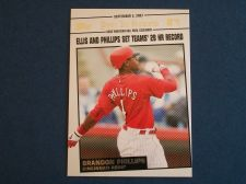Buy 2008 Topps Update Year In Review #YR155 Brandon Phillips REDS