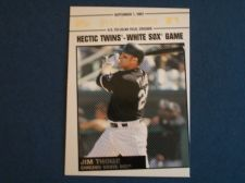 Buy 2008 Topps Update Year In Review #YR157 Jim Thome WHITE SOX