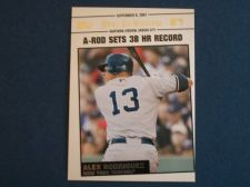 Buy 2008 Topps Update Year In Review #YR158 Alex Rodriguez YANKEES