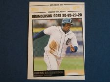 Buy 2008 Topps Update Year In Review #YR159 Curtis Granderson TIGERS