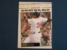 Buy 2008 Topps Update Year In Review #YR162 David Ortiz RED SOX