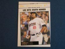 Buy 2008 Topps Update Year In Review #YR165 Carlos Lee ASTROS