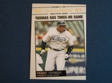 Buy 2008 Topps Update Year In Review #YR167 Frank Thomas BLUE JAYS