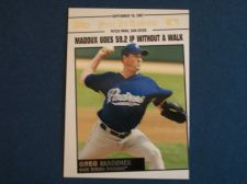 Buy 2008 Topps Update Year In Review #YR168 Greg Maddux PADRES