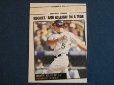 Buy 2008 Topps Update Year In Review #YR169 Matt Holliday ROCKIES